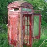 old payphones in desrepair