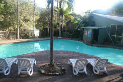 Mount Warning Resort Games Room and Swimming Pool