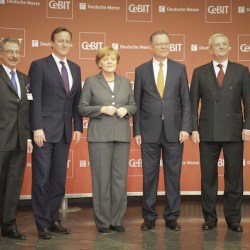 Uk-Prime-minister-at-CeBIT-with-german-chancellor