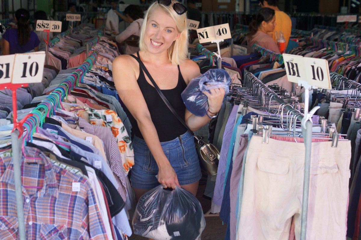 Thrifting in Chiang Mai
