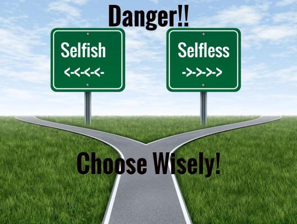 selfish-vs-selfless-road-sign