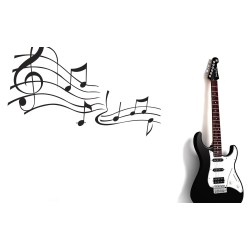 Small Crop Of Music Notes Wallpaper
