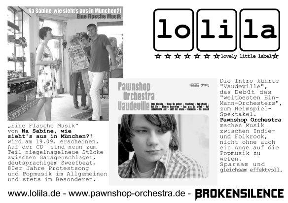 Werbeplakat Popkomm 2005