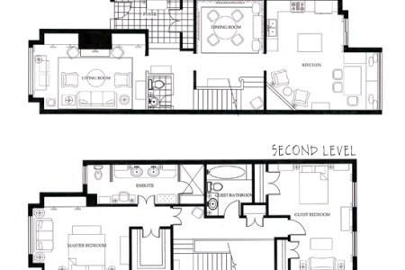 lesley myrick autocad floor plans