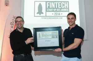 Preisverleihung FinTech StartUp des Jahres 2014 – Kreditech