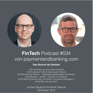 FinTech Podcast #033 – Revival der Banken