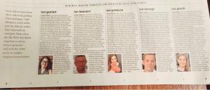 """Die SZ heute zum Thema """"Mut"""" und 5 Personen dazu"""
