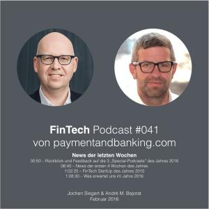 FinTech Podcast #041 – News der letzten Wochen