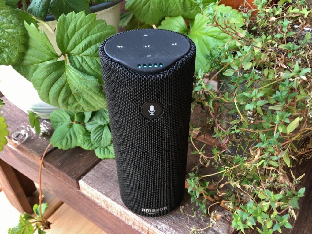 Amazon Tap, mit dem Sprachassistent Alexa