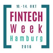 Logo FinTech week Hamburg