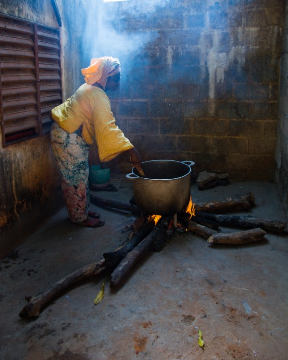 Préparation de sirop de pain de singe