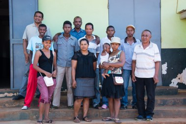 Une partie du Conseil d'Administration de l'APDIP à Tsiroamandidy
