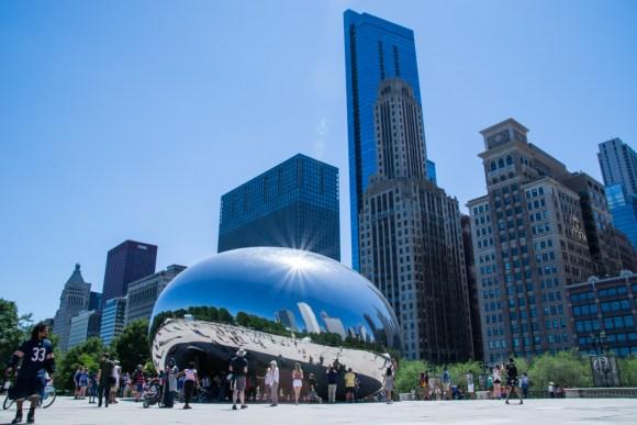 Un petit tour à Chicago : the bean !!