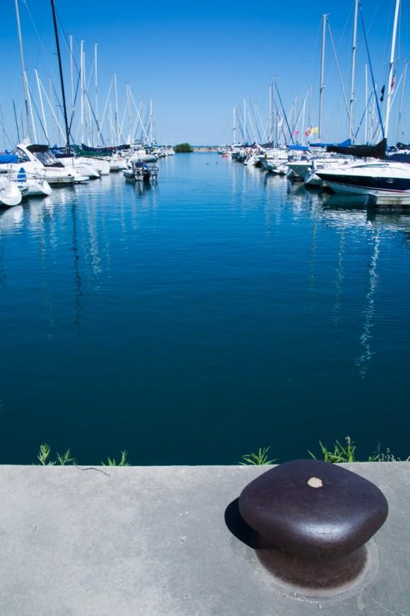 Un petit tour à Chicago : le port