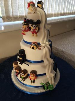 Small Of Batman Wedding Cake
