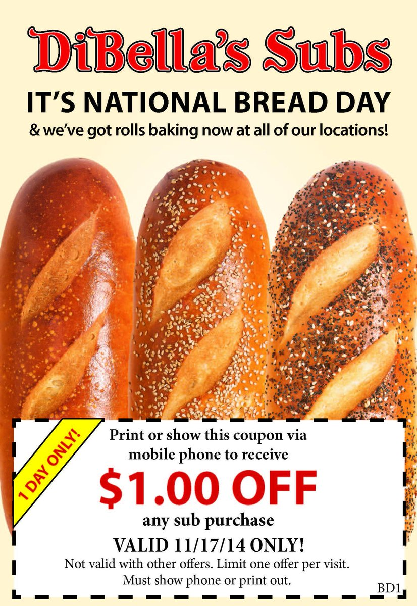 Frantic National Sub Day 2018 Penn Station National Sub Day 2018 Canada Subs On National Bread Come By Celebratewith Off Any Subs On National Bread Come By nice food National Sub Day