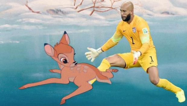 BrhlefRCMAAVwka Theres a fresh batch of memes for Tim Howard after his historic US performance v Belgium [Pictures]