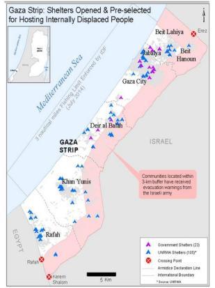 gaza buffer zone