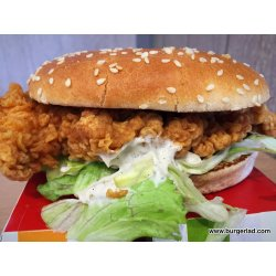 Small Crop Of Kfc Zinger Sandwich