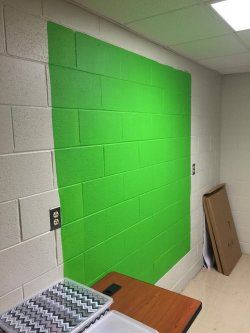 Small Of Green Screen Paint