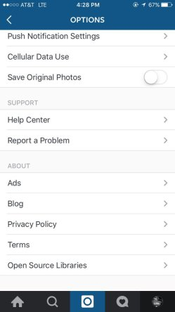 Small Of How To Logout Of Instagram