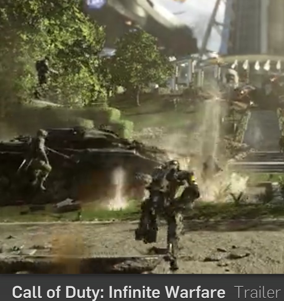 Call of Duty Infinite Warfare Boostjumps