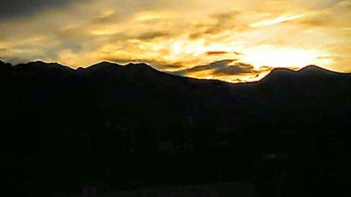Medium Of Sunset Colorado Springs