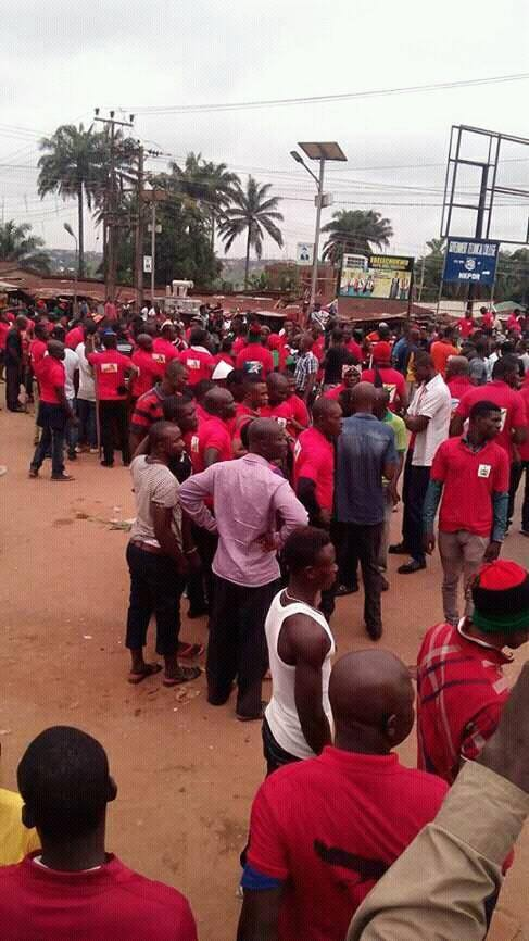 BIAFRA VIOLENCE IN ONITSHA!!! SEE THE SHOCKING THING ANAMBRA GOVT DID