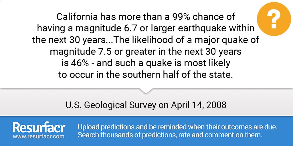 #Predicting the 'big one'???  #earthquake #seismology #naturaldisaster #predicti... CrfUqADUMAAGeSq