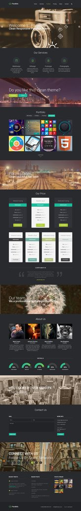 Free Download Website PSD Template (Fully Editable)freebies webtemplates psdtemplate
