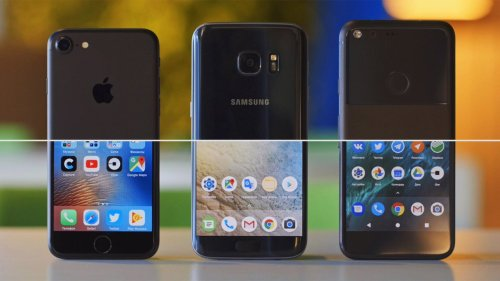 Medium Of Google Pixel Vs Galaxy S7