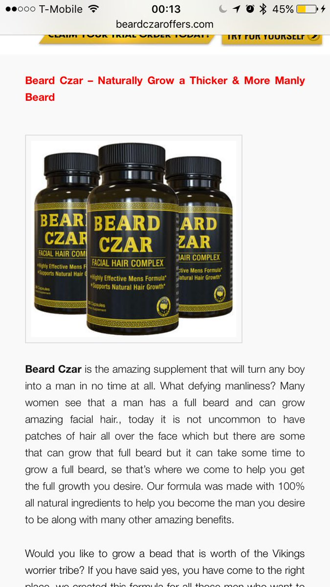 Fullsize Of Beard Czar Review