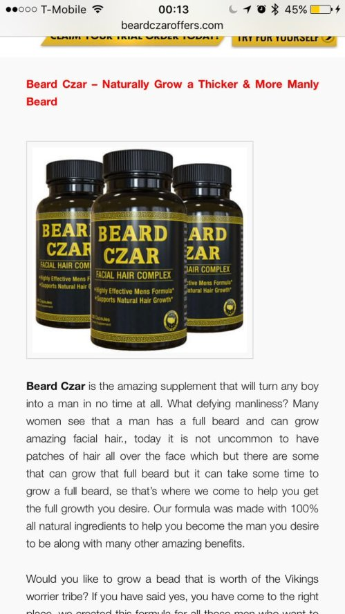 Medium Of Beard Czar Review