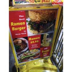 Small Crop Of Red Ramen Burger