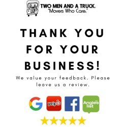 Prissy See Why We Have A Referral Two Men A Truck On Appreciate Your If You We Appreciate Your Business Synonym We Appreciate Your Business Message A Truck On Appreciate Your If Used Our Call Us Two M