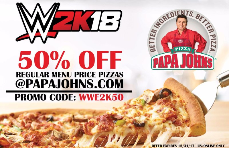 Large Of Papa Johns 50 Cent Pizza