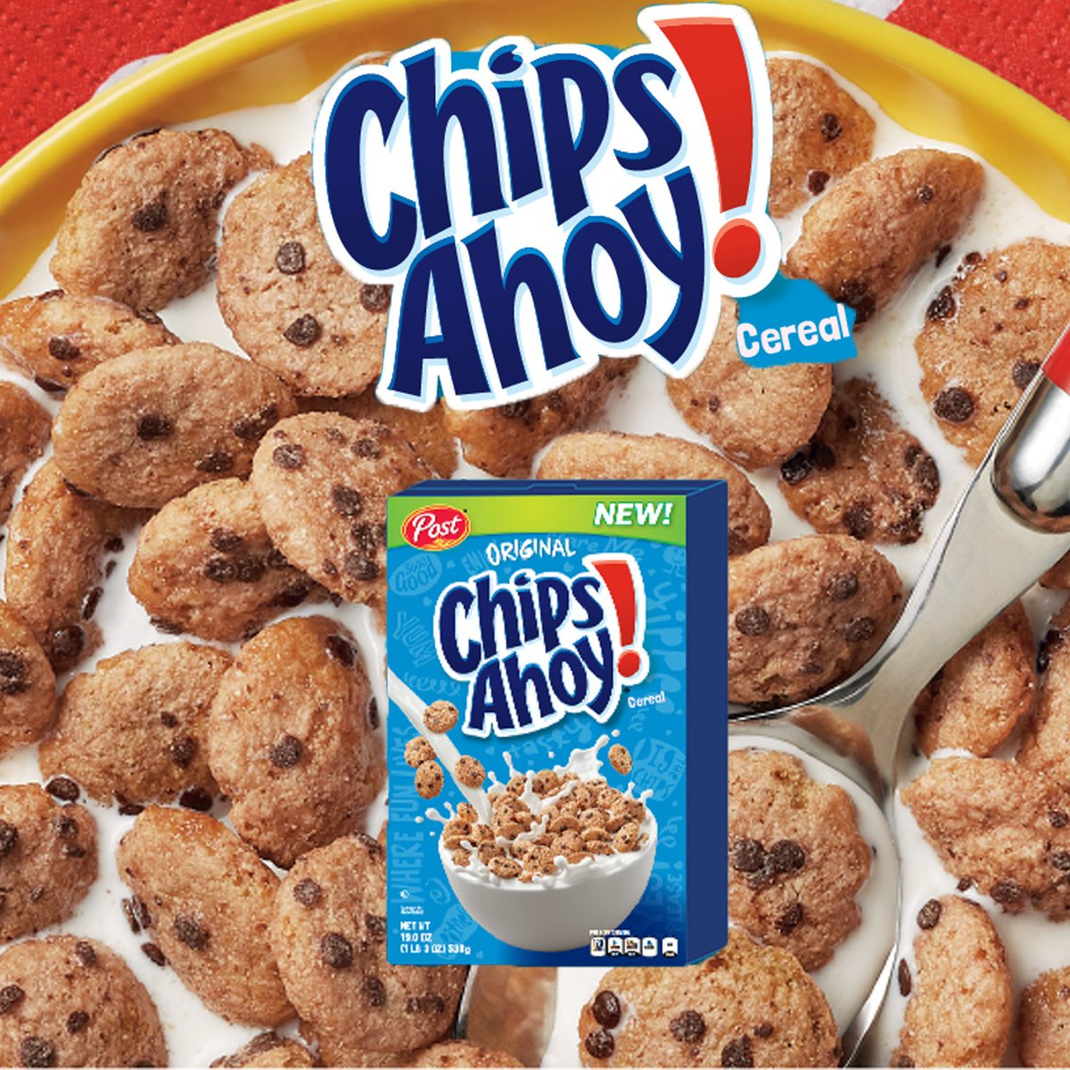 Pretentious Coming Out December Cereal Thomas On I Love Chips I Hate Cookie Chips Ahoy Cereal Smell Chips Ahoy Cereal Vegan Thomas On I Love Chips I Hate Cookie I Hope This Recipe Is Fully nice food Chips Ahoy Cereal