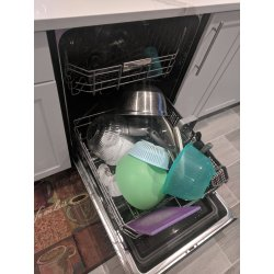 Small Crop Of Dishwasher Not Drying