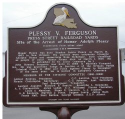 Picture Jfk Institute Berlin On Homer Plessy Is Why Was Homer Plessy Arrested Why Was Homer Plessy Arrested Brainly Civilrights He Lost Resulting Court Plessy But Decision Against Him Had Wide Consequ