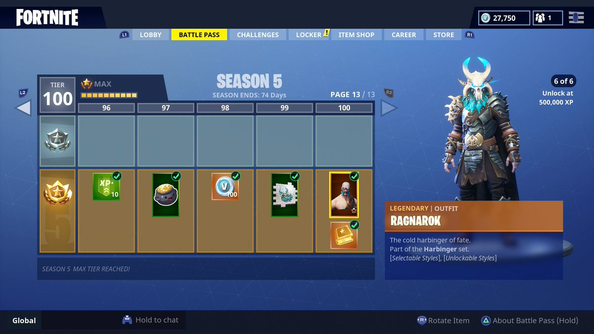 Ali A on Twitter   Unlocking EVERYTHING in the Season 5 battle pass     Ali A on Twitter   Unlocking EVERYTHING in the Season 5 battle pass   The  Tier 100 skin is AWESOME                    NEW VIDEO  https   t co E1AzKPWJFH What do  YOU
