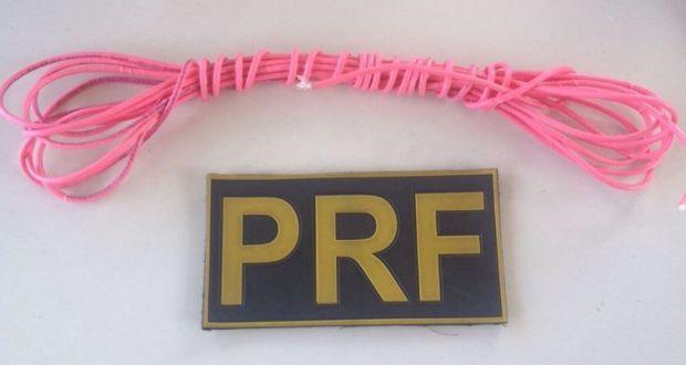 O cordel detonante é um material explosivo de comercialização e uso controlado pelo Exército Brasileiro