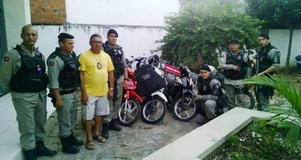 As motos roubadas em Guarabira, eram vendidas em Mamanguape