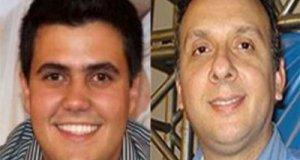 Deputados Wilson Filho (PTB) e Aguinaldo Ribeiro (PP).