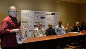 O ex-jogador Zico deseja sucesso à delegação da Special Olympics, que representará o Brasil nos EUA, e reafirma sua candidatura à presidência da Fifa Tânia Rêgo/Agência Brasil