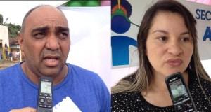 Vereador Lalá (PCdoB) e a vice-prefeita Lili (PSB) postulam indicação para 2016