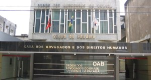 Sede da OAB-PB.