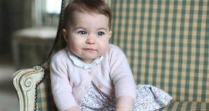 Princesa Charlotte aos seis meses