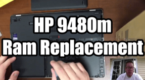 HP 9480m Ram Replacement – How To