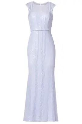 Badgley Mischka Lilac Petal Gown