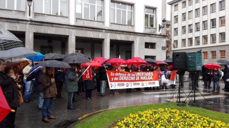 La huelga es un derecho, no un delito